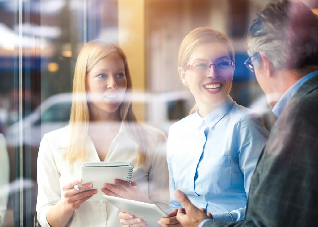 3 Mitarbeiter Besprechung